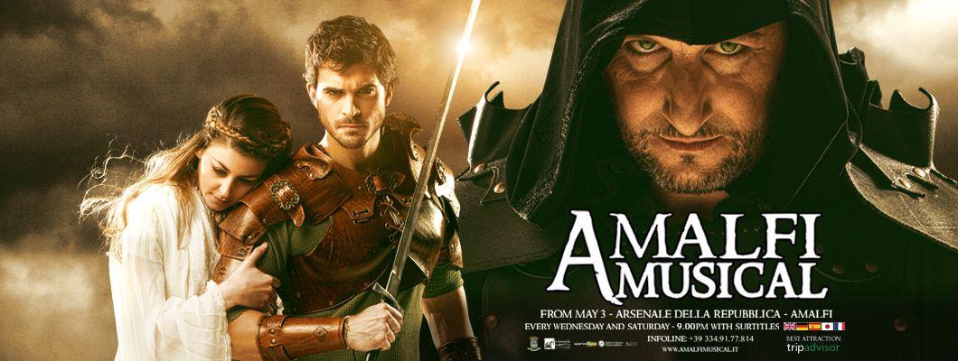 Amalfi 839 AD Musical. Sabato 12 ottobre