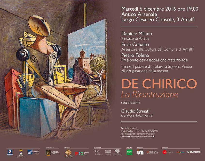 """Mostra """"De Chirico. La ricostruzione"""""""