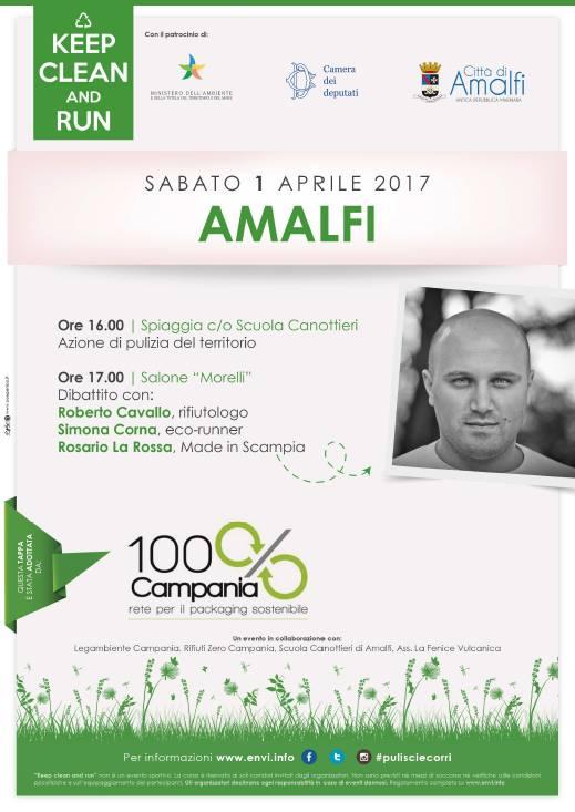 "Ad Amalfi l'eco-trail ""Keep Clean and Run #pulisciecorri"""