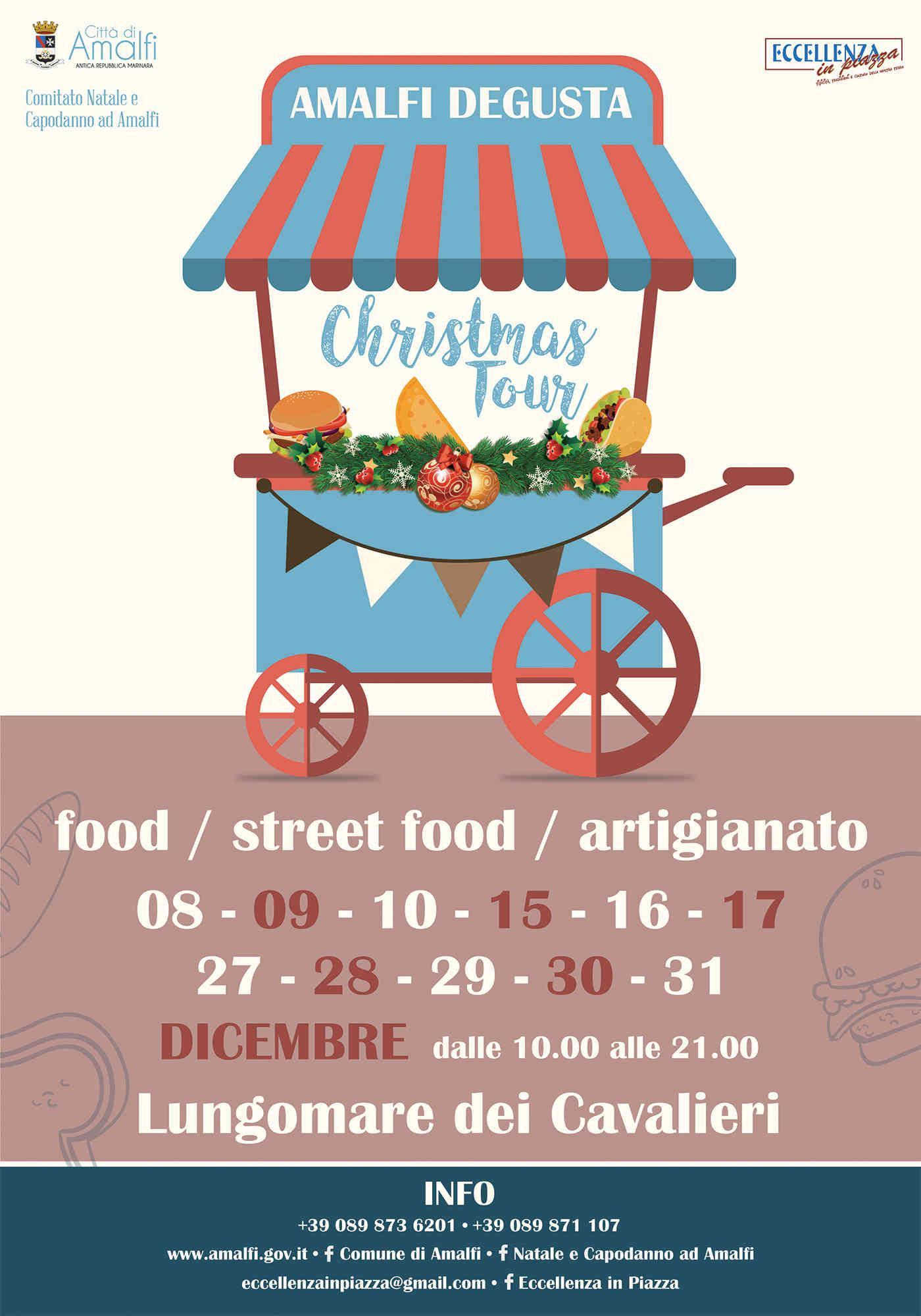 Amalfi Degusta – Food e Street Food Christmas Tour