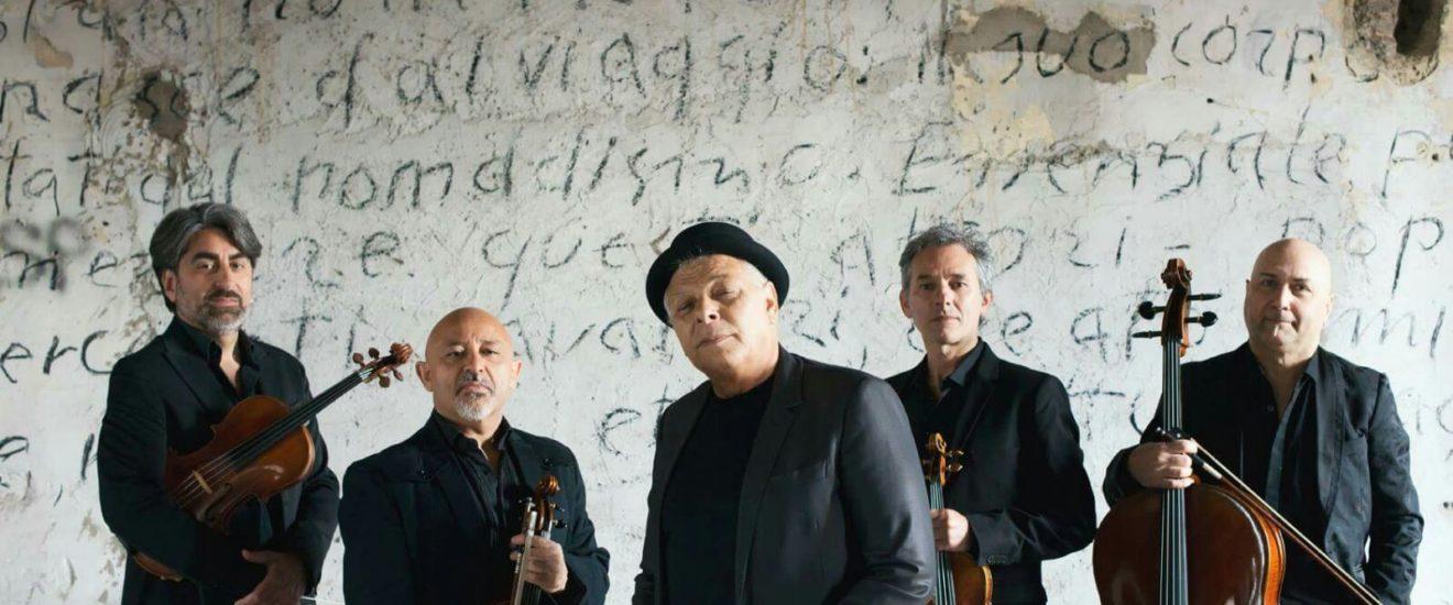 Enzo Gragnaniello & Solis String Quartet in piazza Duomo