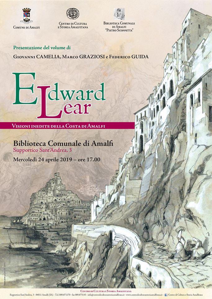Edward Lear. Visioni inedite della Costa d'Amalfi