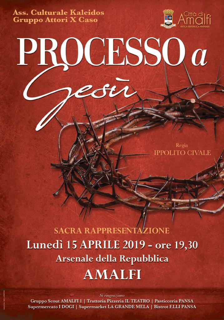 """""""Processo a Gesù"""" all'Antico Arsenale"""