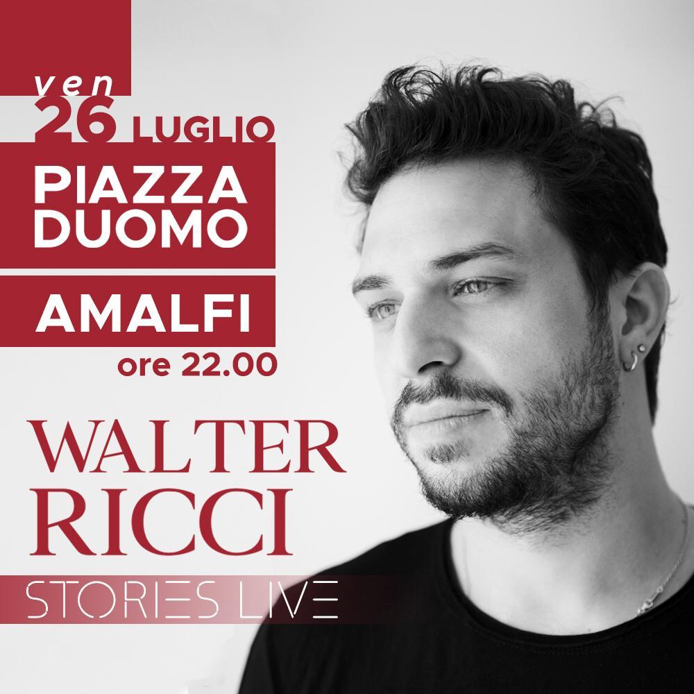 "Amalfi in Jazz. Walter Ricci & Big Band con ""Stories"" in anteprima"