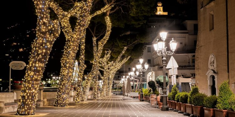 Natale ad Amalfi