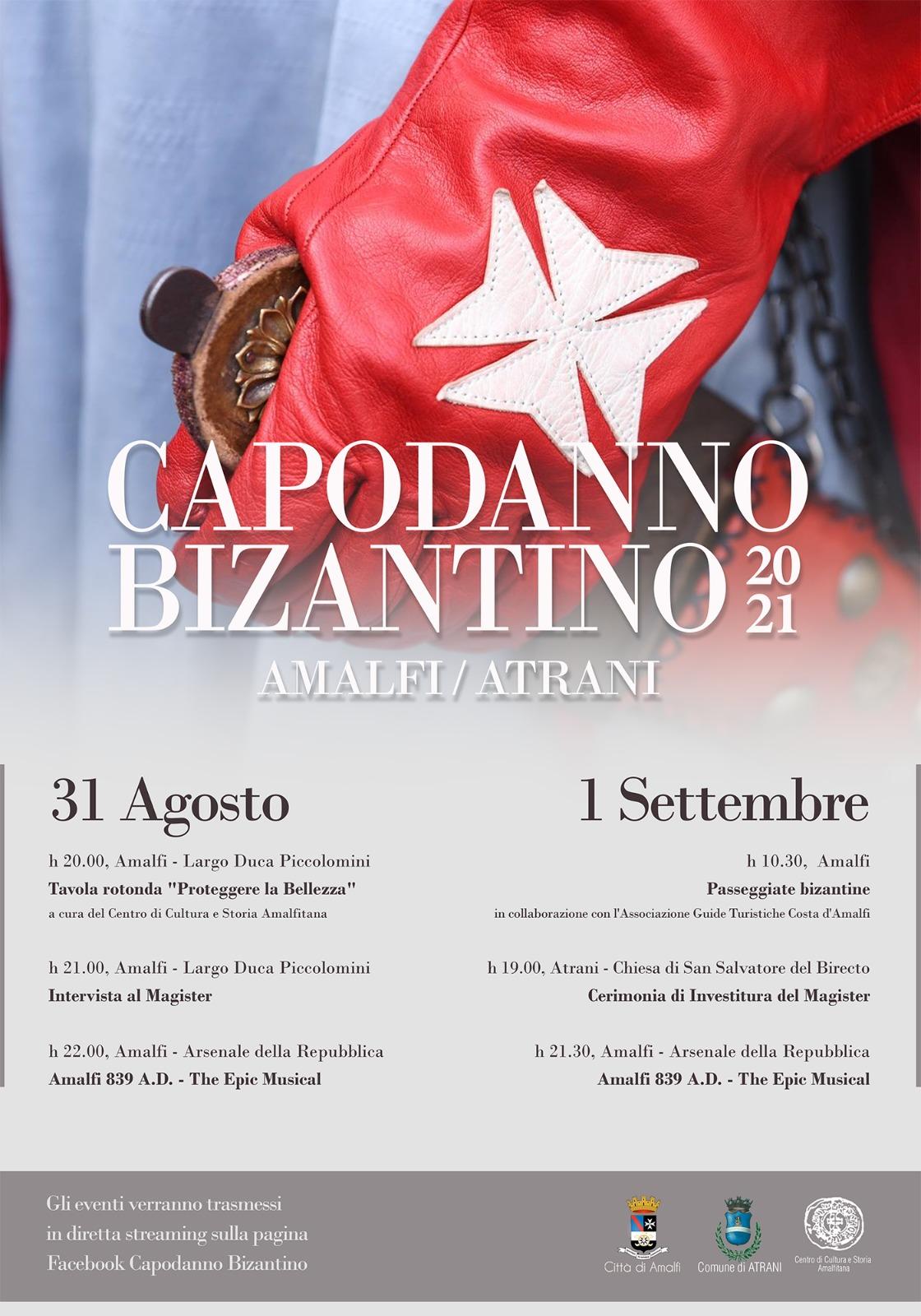 Capodanno Bizantino 2021 - manifesto